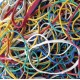 Assorted Coloured Rubber Bands